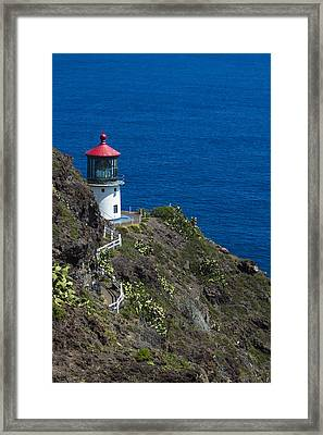 Makapuu Lighthouse2 Framed Print