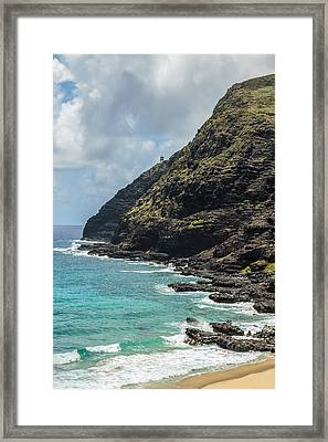 Makapuu Point 1 Framed Print