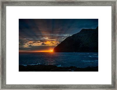 Makapuu Sunrise Framed Print