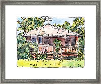 Makawao House Framed Print