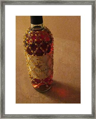 Make A Toast Without Bread Framed Print by Guy Ricketts