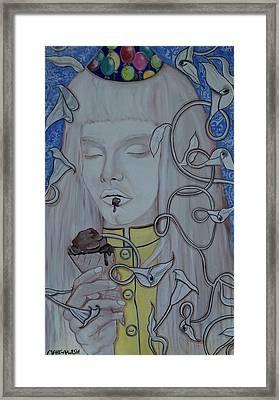 Make A Wish Framed Print by Darlene Graeser