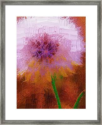 Framed Print featuring the photograph Make A Wish by Diane Miller