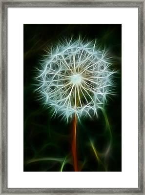 Make A Wish Framed Print by Joann Copeland-Paul