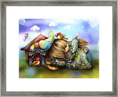 Make A Wish Framed Print by Karin Taylor