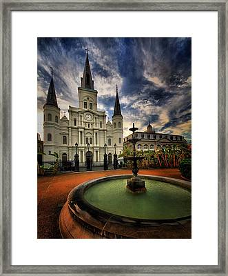 Framed Print featuring the photograph Make A Wish by Robert McCubbin