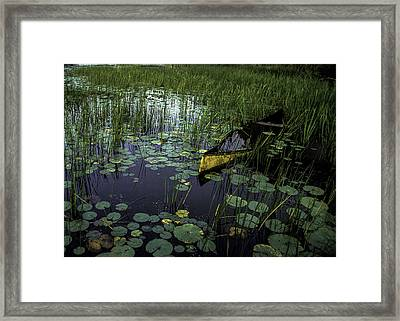 Make An Offer Framed Print