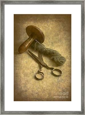 Make Do And Mend Framed Print