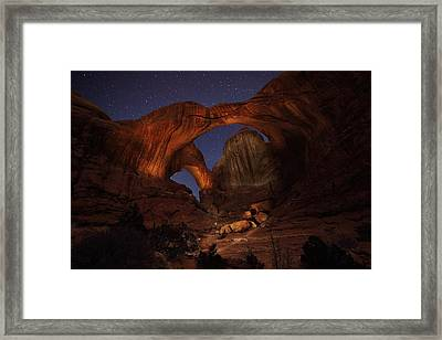 Framed Print featuring the photograph Make It A Double by David Andersen