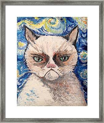 Make Me Happy Framed Print by Iya Carson
