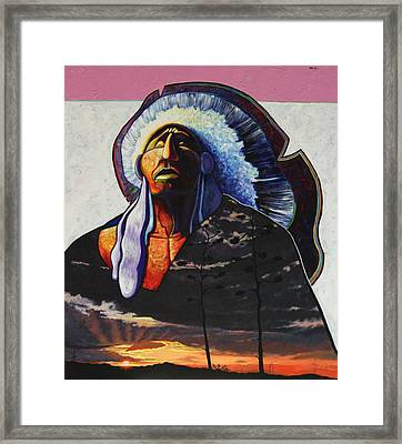 Make Me Worthy Framed Print by Joe  Triano