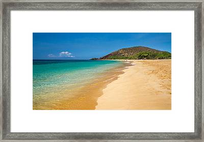 Makena Beach Maui Is One Of The Most Beautiful Beach In The World Framed Print