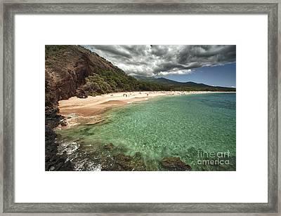 Makena Beach Maui Framed Print by Paul Karanik