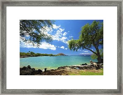 Makena Beach State Park Framed Print by Kicka Witte