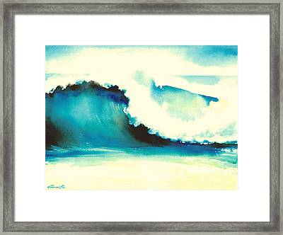 Makena Maui Framed Print