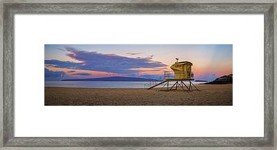 Makena Morning Framed Print by Hawaii  Fine Art Photography