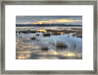 Makepeace Lake Framed Print