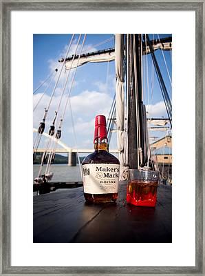 Maker's Aboard Framed Print by Wayne Stacy