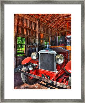 Maker's Mark Firehouse 2 Framed Print by Mel Steinhauer