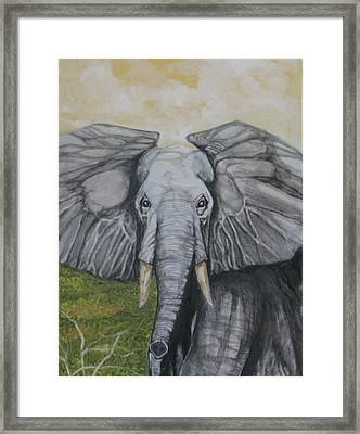Making A Stand Framed Print
