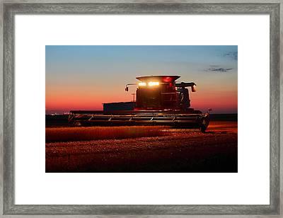 Making Bread Framed Print by Jason Drake