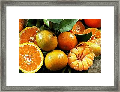 Making Juice Framed Print by Cole Black