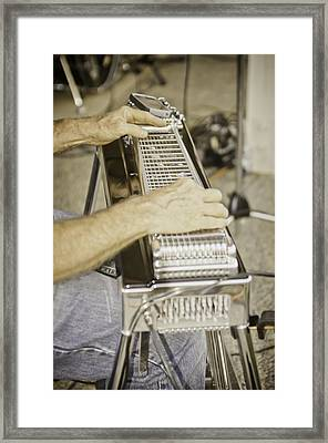Framed Print featuring the photograph Making Music by Sherri Meyer