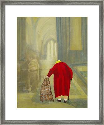 Daily Rounds Framed Print by Elizabeth  Bogard