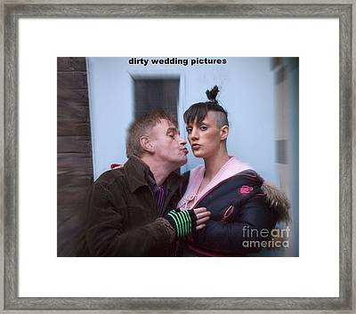 Making Sex Dirty By Censorship Framed Print by Mike Hoyle