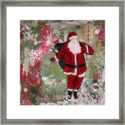Making Spirits Bright Framed Print
