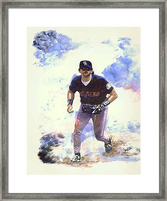 Making The Play Framed Print