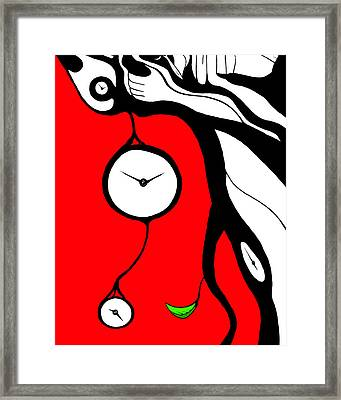 Making Time Framed Print by Craig Tilley