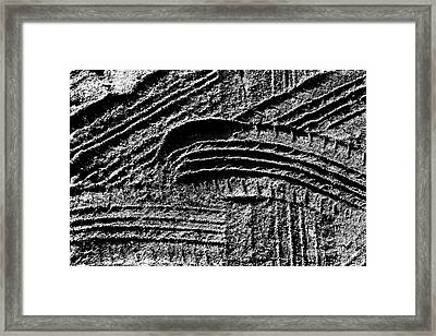 Making Tracks Framed Print by Clare Bevan