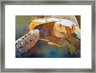 Making Tracks Framed Print by Kris Parins