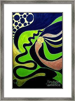 Making Waves.. Framed Print by Jolanta Anna Karolska