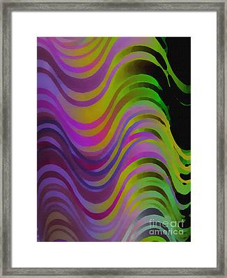 Making Waves Framed Print