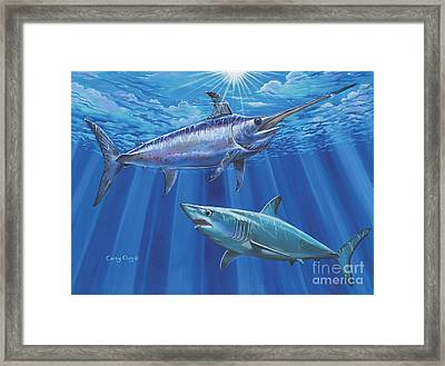 Mako Sword Off0024 Framed Print by Carey Chen