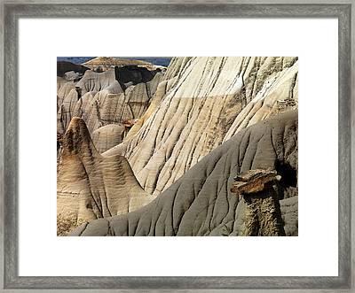 Makoshika State Park 3 Framed Print by Leland D Howard