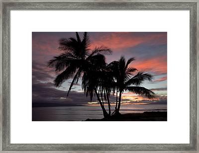 Mala Sunset Framed Print by James Roemmling