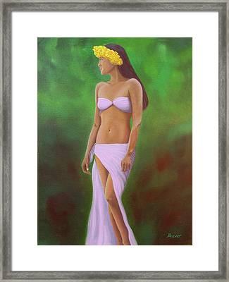 Mala Wahine Framed Print by Wahine Art