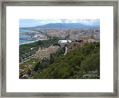 Malaga - Andalucia - Spain Framed Print