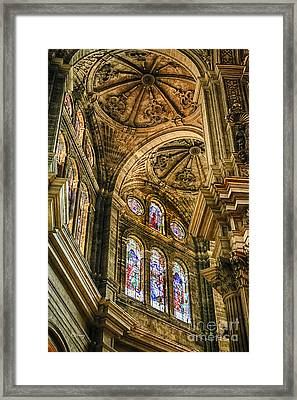 Malaga Cathedral IIi Framed Print by Rene Triay Photography