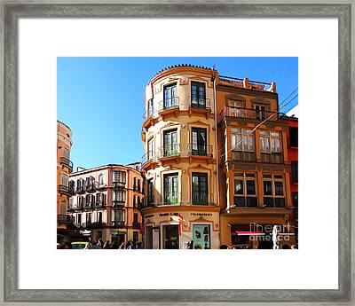 Malaga Spain Framed Print by Lutz Baar