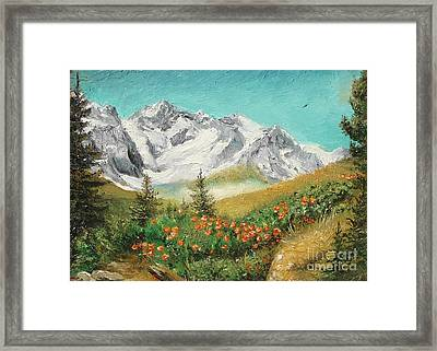 Framed Print featuring the painting Malaiesti by Sorin Apostolescu
