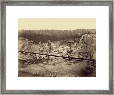 Malakoff Diggings, North Bloomfield, Nevada County Framed Print