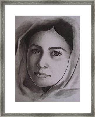 I Am Malala Framed Print