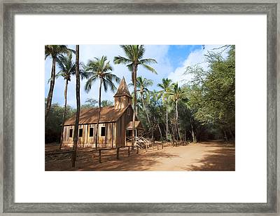 Malamalama Church Framed Print by Jenna Szerlag