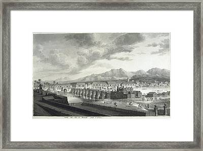 Malaspina Expedition. Philipines 1792 Framed Print