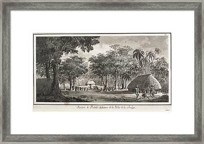 Malaspina Expedition. Tonga Islands Framed Print