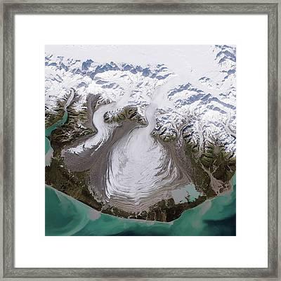 Malaspina Glacier Framed Print